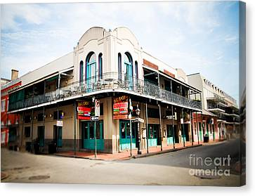 The Big Easy Canvas Print by Sylvia Cook