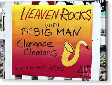 The Big Man Tribute At The Wonder Bar Canvas Print