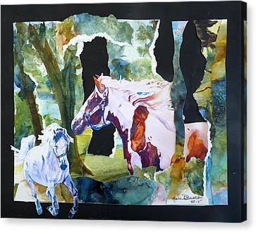 The Big Redo Canvas Print by P Maure Bausch