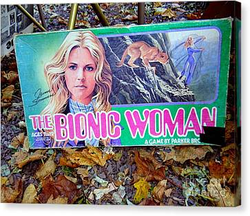 The Bionic Woman Canvas Print