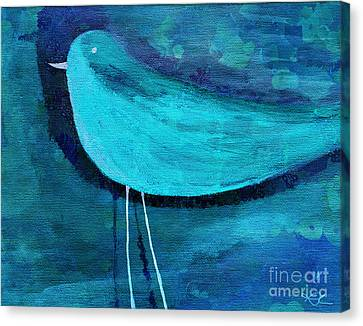The Bird - Bl07a Canvas Print