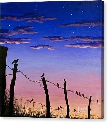 The Birds - Morning Has Broken Canvas Print