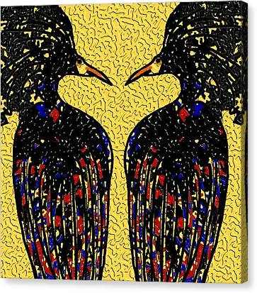 The Birds Canvas Print by Vickie G Buccini