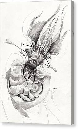 Tentacles Canvas Print - The Bishop by Ethan Harris