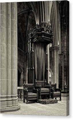 The Bishops Chair Canvas Print by Dick Wood