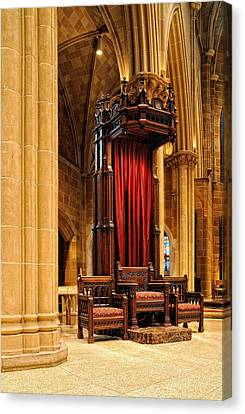 The Bishops Chair II Canvas Print by Dick Wood