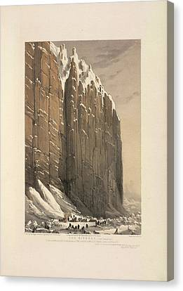 The Bivouac (cape Seppings) Canvas Print by British Library