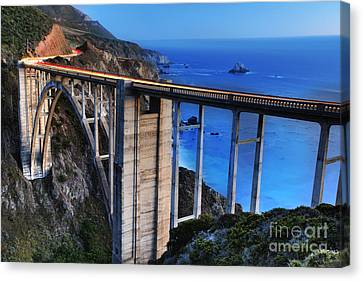 The Bixby Bridge  Canvas Print