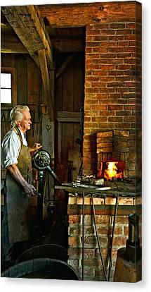 The Blacksmith 2 Canvas Print by Steve Harrington