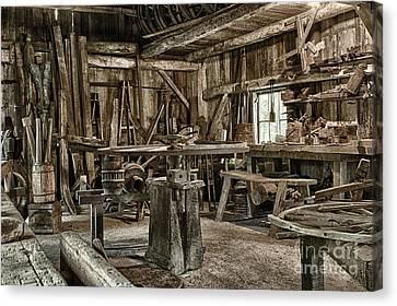 The Blacksmith Shop Canvas Print