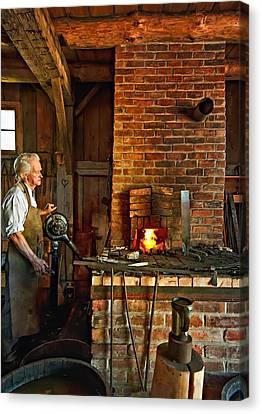 The Blacksmith Canvas Print by Steve Harrington