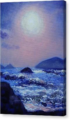 Edition Canvas Print - The Blasket Islands by John  Nolan