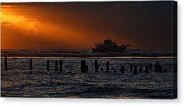 The Blessed Crew - Outer Banks Canvas Print