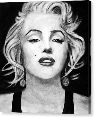 The Blonde Canvas Print