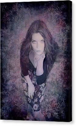 The Blown Kiss Canvas Print by Loriental Photography