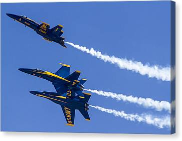 The Blue Angels In Action 5 Canvas Print