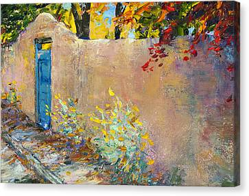 The Blue Door Canvas Print by Steven Boone