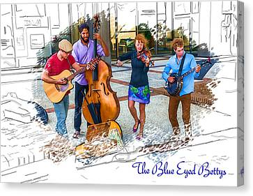 The Blue Eyed Bettys Canvas Print