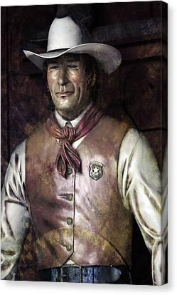 The Blue-eyed Marshal Canvas Print