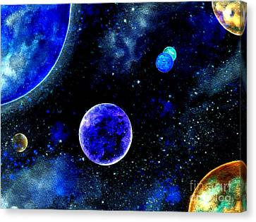 The Blue Planet Canvas Print by Bill Holkham