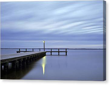 The Blues Lavallette New Jersey Canvas Print by Terry DeLuco