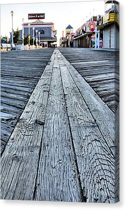 Md Canvas Print - The Boardwalk by JC Findley