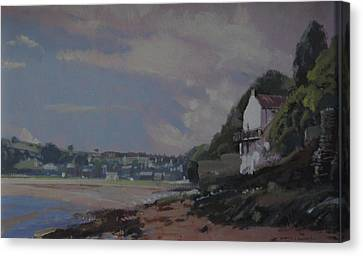 The Boat House Canvas Print by Derek Williams