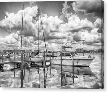 Canvas Print featuring the photograph The Boat by Howard Salmon