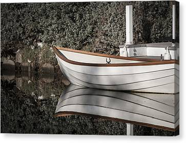 Canvas Print featuring the photograph The Boat Narcissus by Kevin Bergen