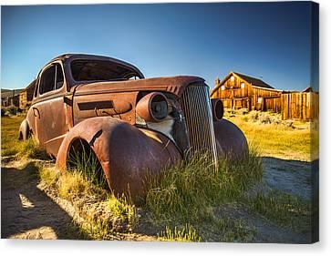 The Bodie Sedan Canvas Print by Wayne Stadler