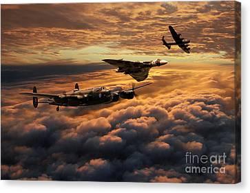 The Bomber Age  Canvas Print by J Biggadike