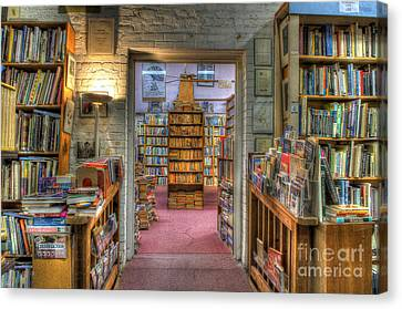 The Bookstore Canvas Print