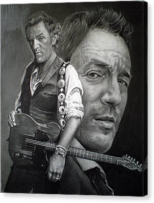 The Boss Canvas Print by Raoul Alburg