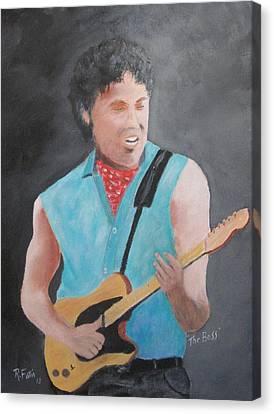 The Boss Canvas Print by Rich Fotia