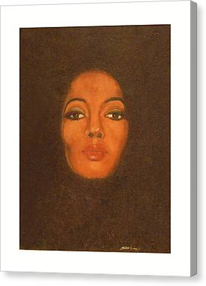 Diana Ross Canvas Print - The Boss by Sam Finch