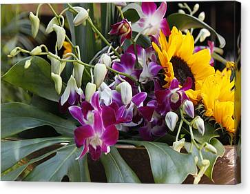 Canvas Print featuring the photograph The Bouquet by Ivete Basso Photography