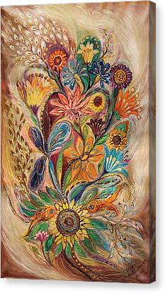 The Bouquet Of Life Canvas Print by Elena Kotliarker