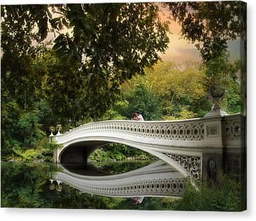 The Bow Bridge Canvas Print