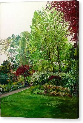 The Bower Canvas Print by Aditi Bhatt