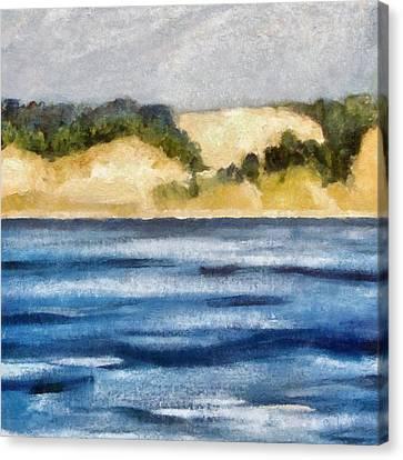 The Bowl - Dunes Study 2 Canvas Print by Michelle Calkins