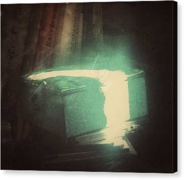 Canvas Print featuring the photograph The Box For Wishes  by Steven Huszar