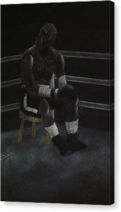 The Boxer 2013 Canvas Print by Carl Frankel
