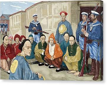 The Boxer Rebellion (1900 Canvas Print