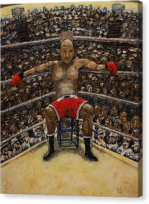 The Boxer Canvas Print by Richard Wandell
