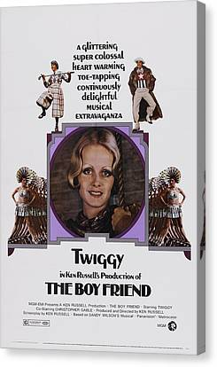 The Boy Friend, Us Poster Art, Twiggy Canvas Print by Everett