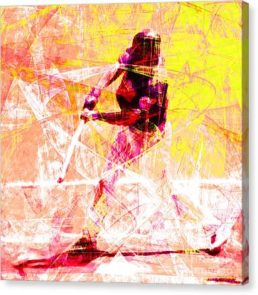 The Boys Of Summer 5d28228 The Batter Square V2 Canvas Print
