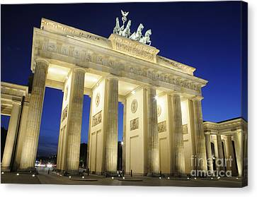 The Brandenburg Gate Canvas Print by Colin Woods
