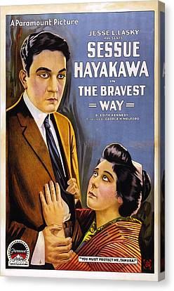 The Bravest Way, Us Poster Art, Sessue Canvas Print