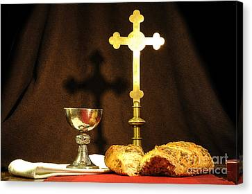 The Bread Of Life Canvas Print by Donald Davis