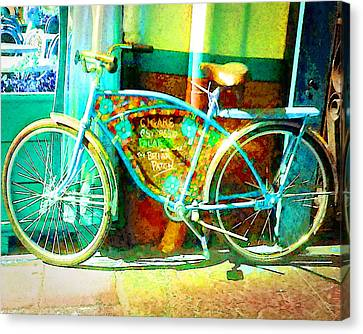 The Briar Patch Bike Canvas Print